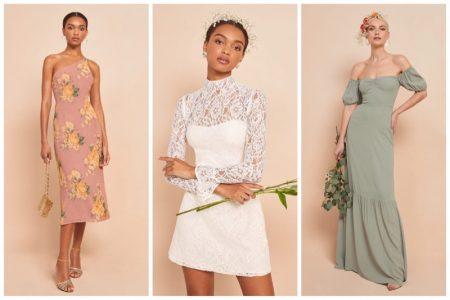 Modern Wedding: Reformation Unveils Spring 2020 Bridal Dresses