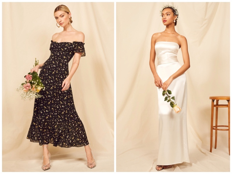 Wedding Bells: Reformation Launches Spring 2019 Bridal Dresses