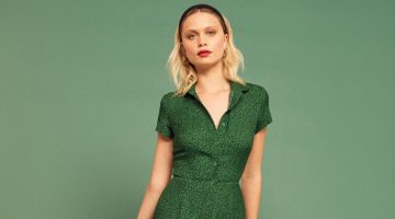 Reformation Wilma Dress in Jitterbug $218