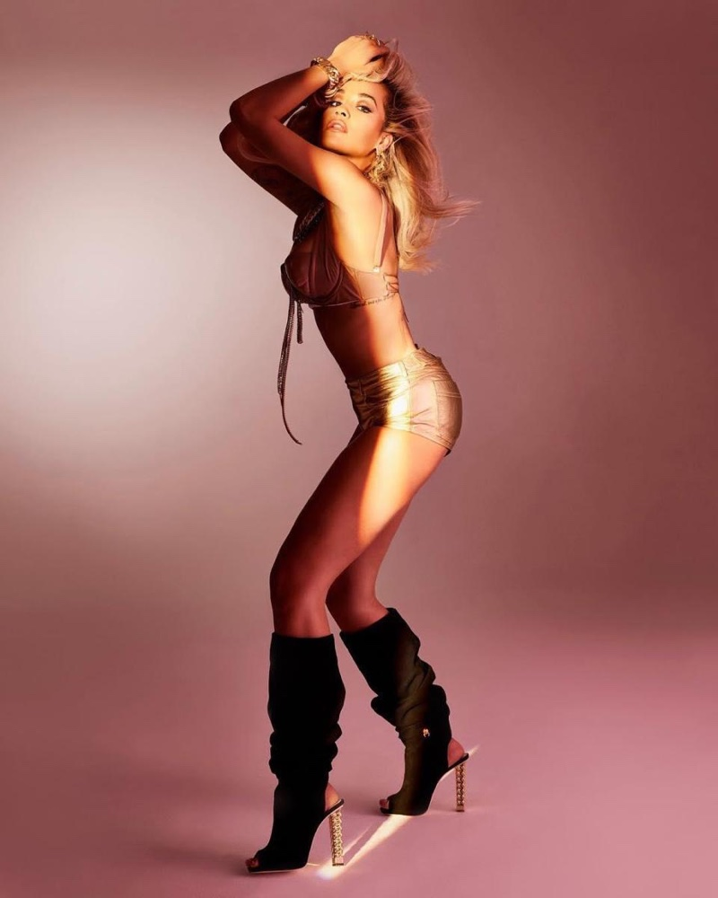 Giuseppe Zanotti x Rita Ora Elinor Knee-High Boot $1,995