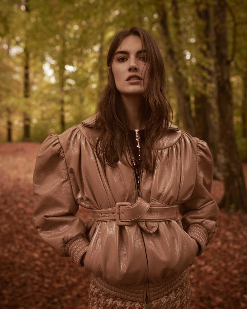 Ronja Furrer Models Chic Ensembles for L'Officiel Suisse