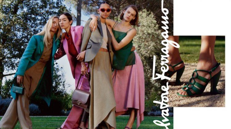 Salvatore Ferragamo Sets Spring 2019 Campaign in A Villa
