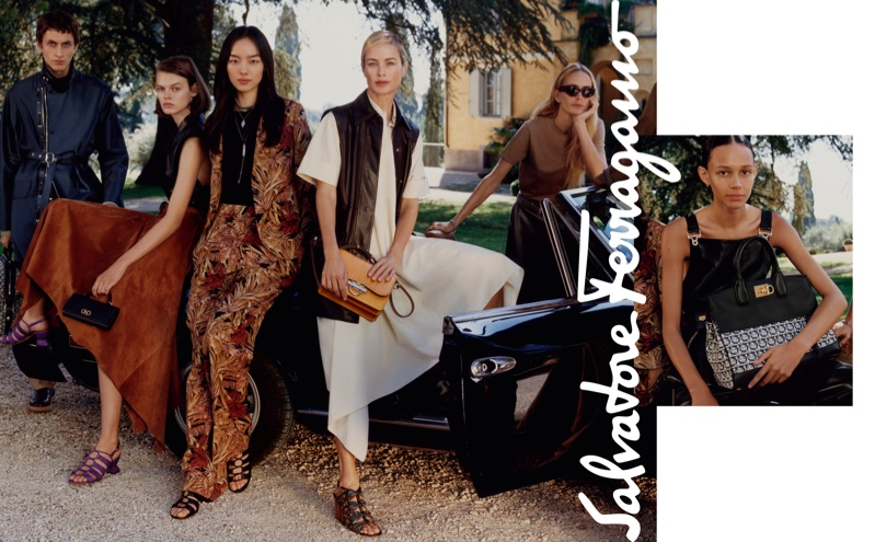 An image from the Salvatore Ferragamo spring 2019 advertising campaign