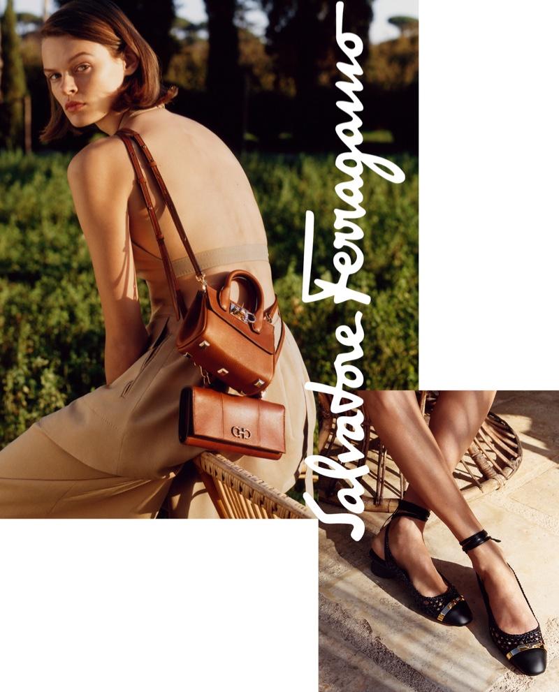 Cara Taylor fronts Salvatore Ferragamo spring-summer 2019 campaign