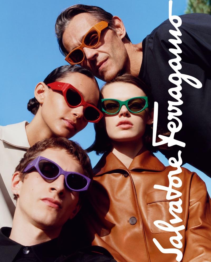 Salvatore Ferragamo focuses on colorful sunglasses for spring-summer 2019 campaign