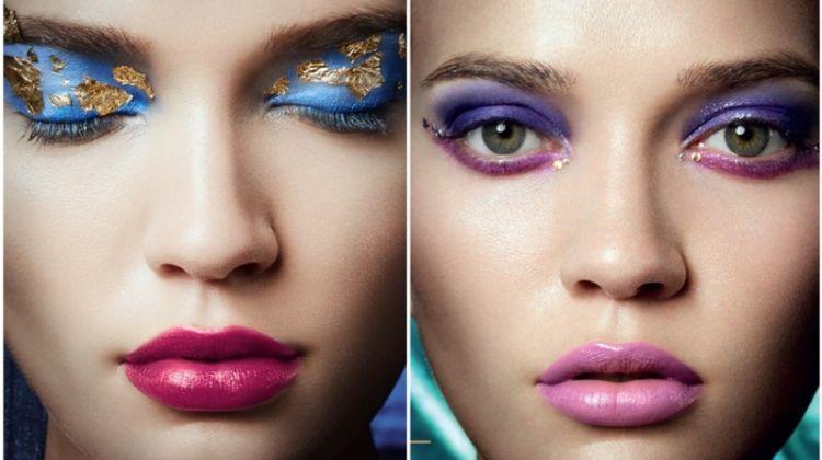 Sunniva Tufte Halkjelsvik Wears Glitter Beauty for Grazia Bulgaria