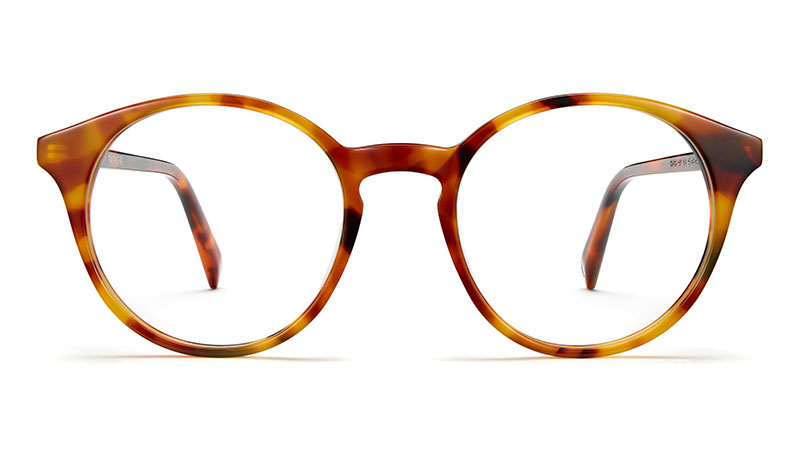 Warby Parker Morgan Glasses in Mesa Tortoise $95