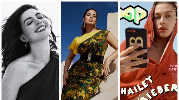 Week in Review | Hailey Baldwin Covers POP, Ashley Graham for Marina Rinaldi, Anne Hathaway Lands Town & Country + More
