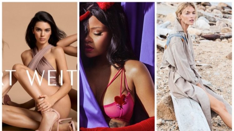 Week in Review | Martha Hunt's New Cover, Kendall Jenner for Stuart Weitzman, Rihanna in Lingerie + More