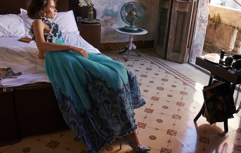 An image from the Zimmermann spring 2019 advertising campaign