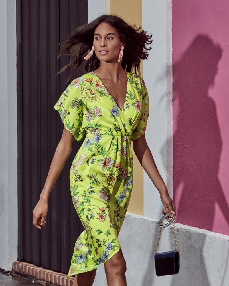 Full Bloom: See Aidan by Aidan Mattox Floral Print Dresses