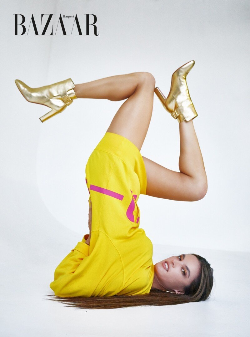 Alessandra Ambrosio Graces the Pages of Harper's Bazaar Vietnam