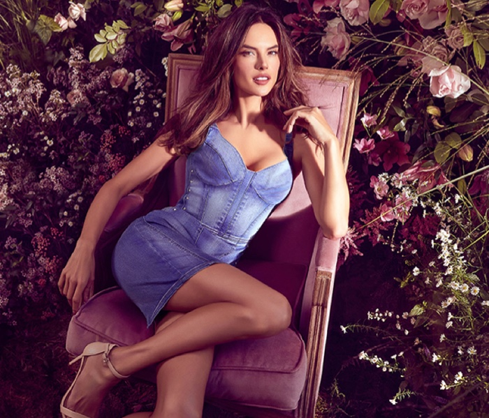 Flaunting her figure, Alessandra Ambrosio fronts Love Republic spring-summer 2019 campaign
