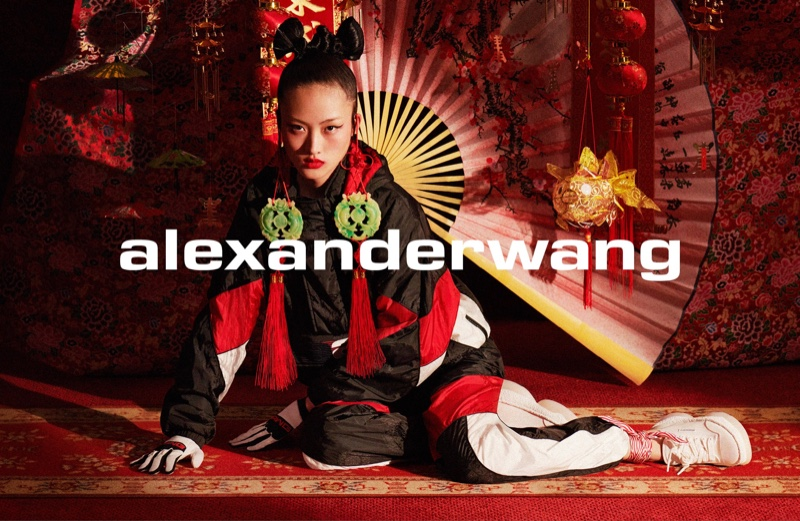 Alexander Wang features Chinoiserie inspired fashion for Collection 1 Drop 3 campaign