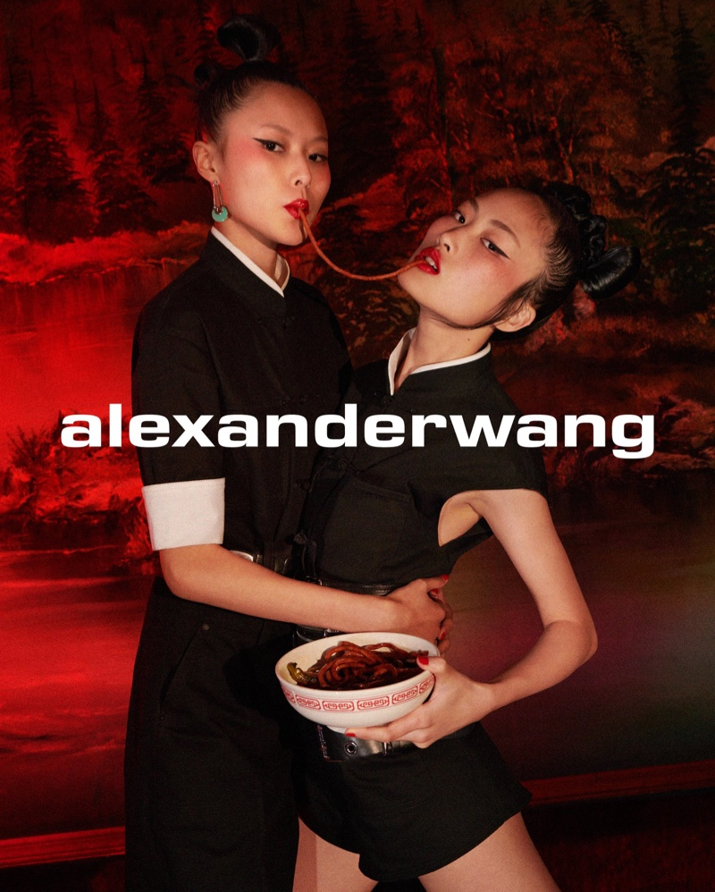 Jing Wen and Su Kexin stars in Alexander Wang Collection 1, Drop 3 campaign