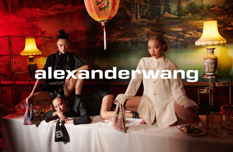 Chinese rapper VaVa joins Jing Wen and Su Kexin for Alexander Wang Collection 1 Drop 3 campaign