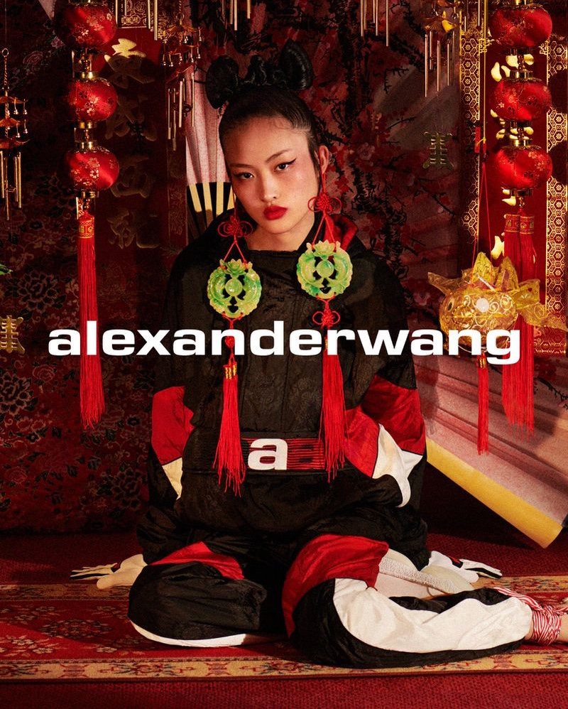 An image from the Alexander Wang Collection 1 Drop 3 campaign