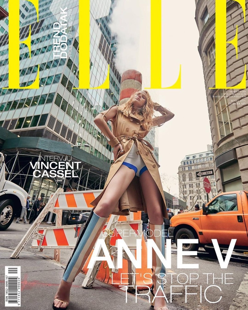 Anne Vyalitsyna Graces the Pages of ELLE Serbia
