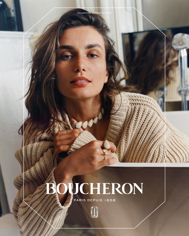 Boucheron taps the Romanian model for its latest campaign
