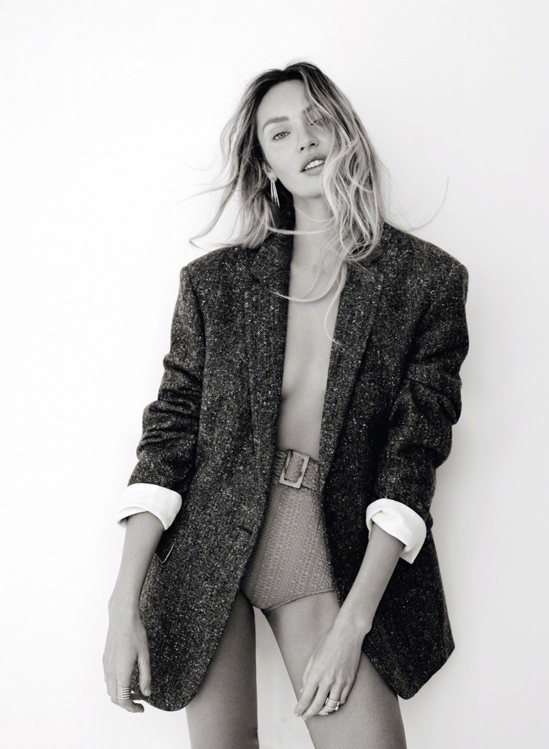 Candice Swanepoel Gets Physical for Vogue Turkey Shoot
