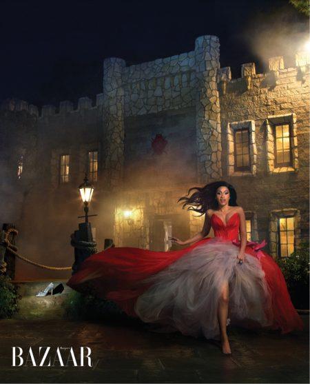 Cardi B Channels Fairy Tales in Harper's Bazaar Cover Story