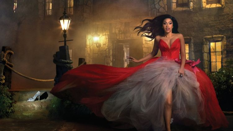 Cardi B Channels Fairy Tales in Harper's Bazaar Cover Story