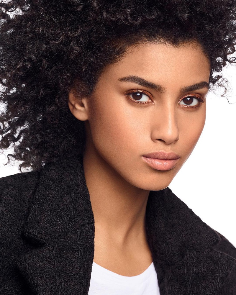 Imaan Hammam appears in Chanel Ultra Le Teint foundation campaign