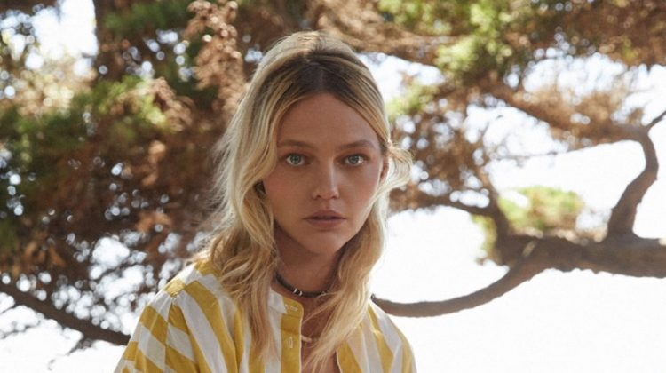Sasha Pivovarova stars in Closed spring-summer 2019 campaign