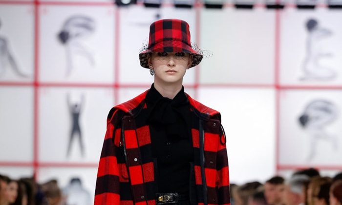Dior Embraces Plaid for Fall 2019