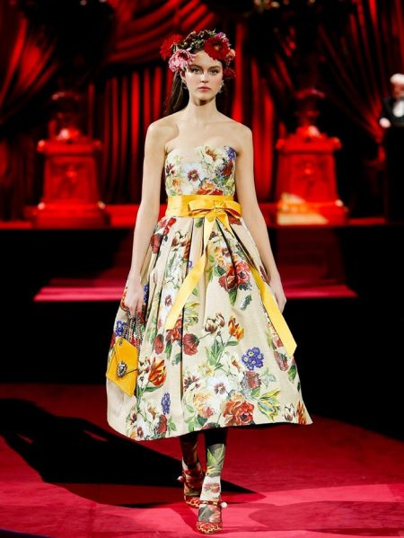 Dolce & Gabbana Celebrates 'Eleganza' for Fall 2019
