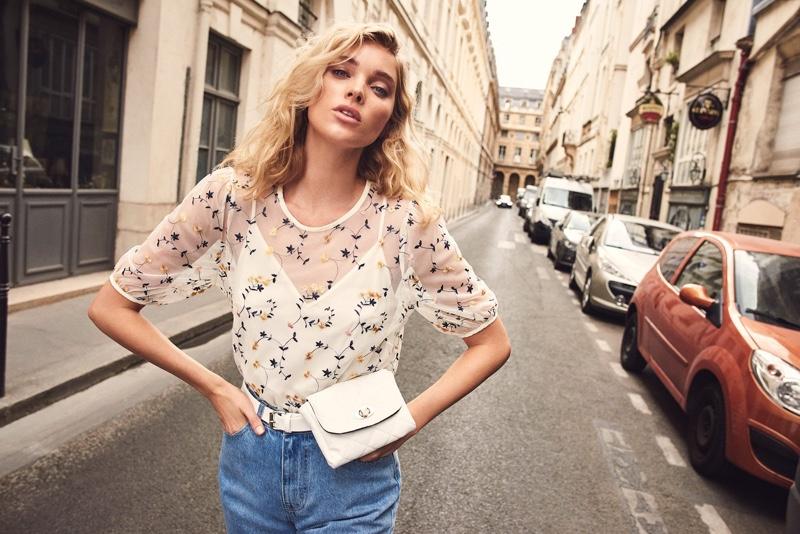 Elsa Hosk stars in Vero Moda spring-summer 2019 campaign