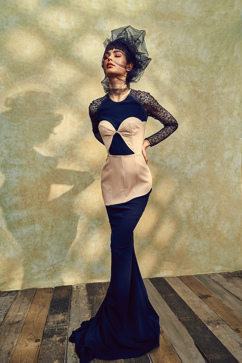 Emilee MacCormack Wears Elegant Looks for L'Officiel Lithuania