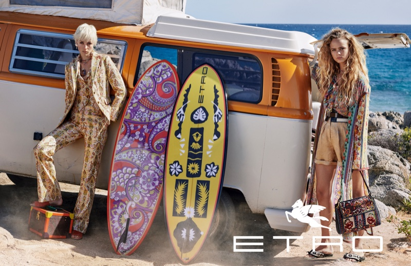 Cass Bird photographs Etro spring-summer 2019 campaign