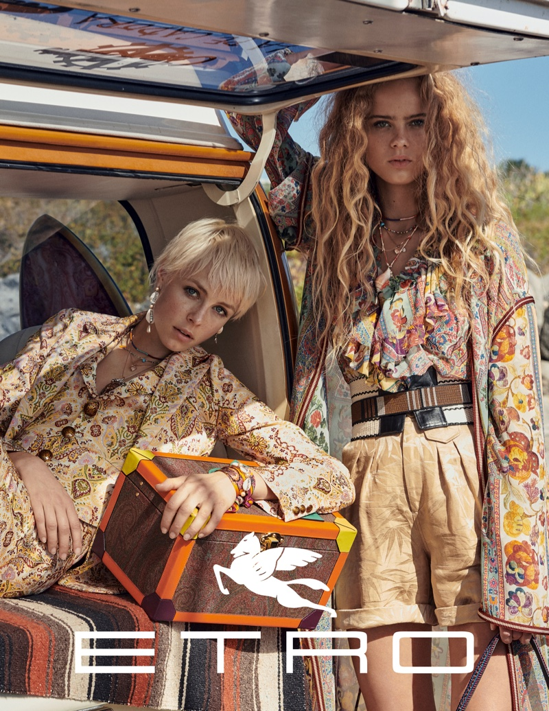 An image from the Etro spring 2019 advertising campaign