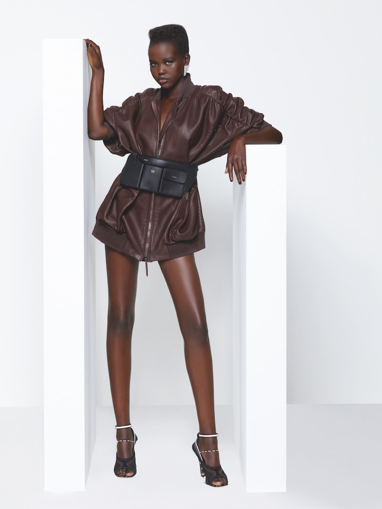 Adut Akech appears in Fendi spring-summer 2019 campaign