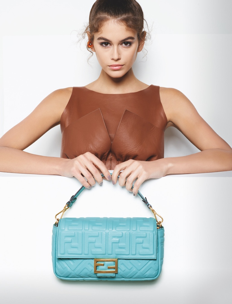 Kaia Gerber fronts Fendi spring-summer 2019 campaign