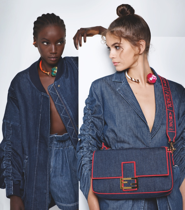 Denim takes the spotlight in Fendi spring-summer 2019 campaign