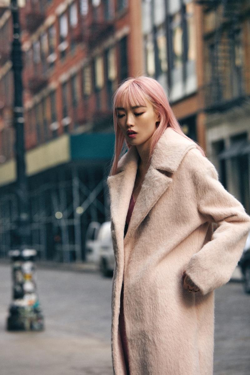 Fernanda Ly Models Cool Looks for Jones Magazine