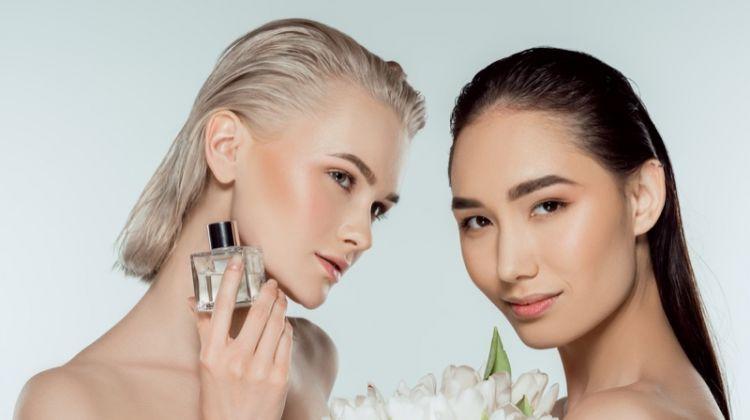 Fragrance Models Beauty Flowers