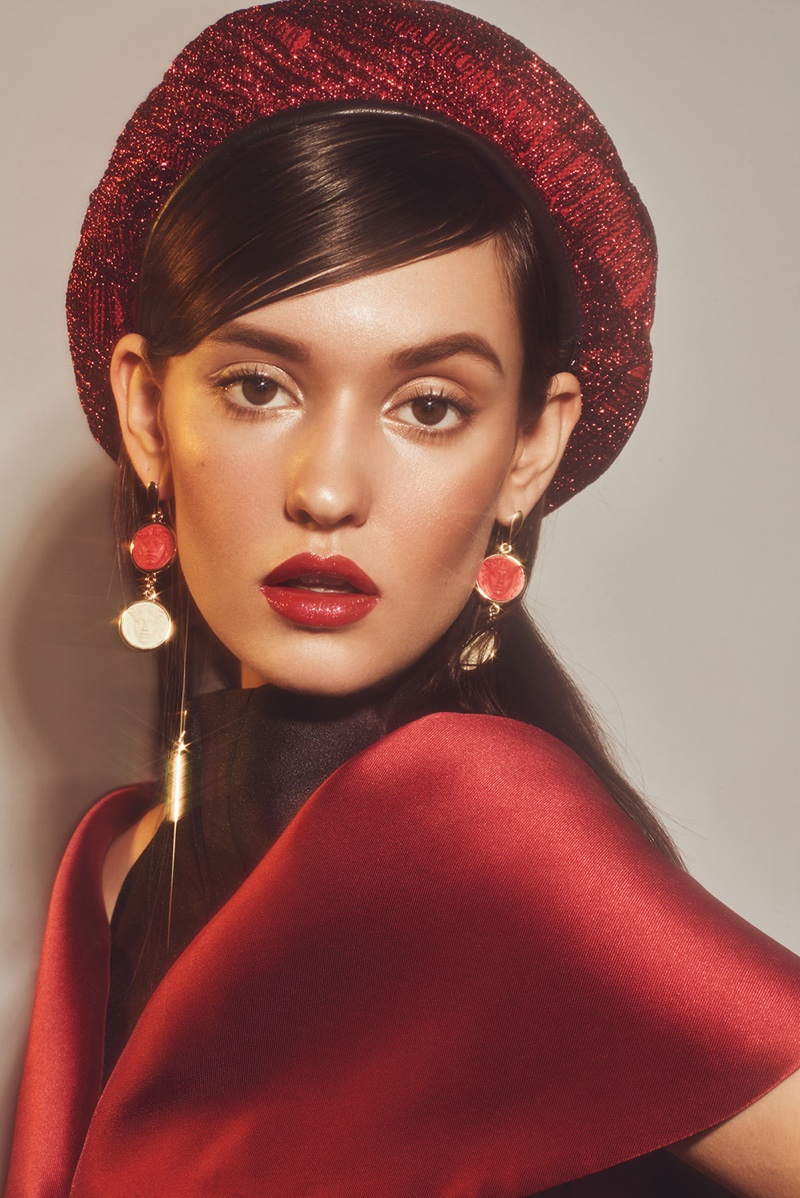Fred Juneau is Red-Hot for L'Officiel Thailand Beauty