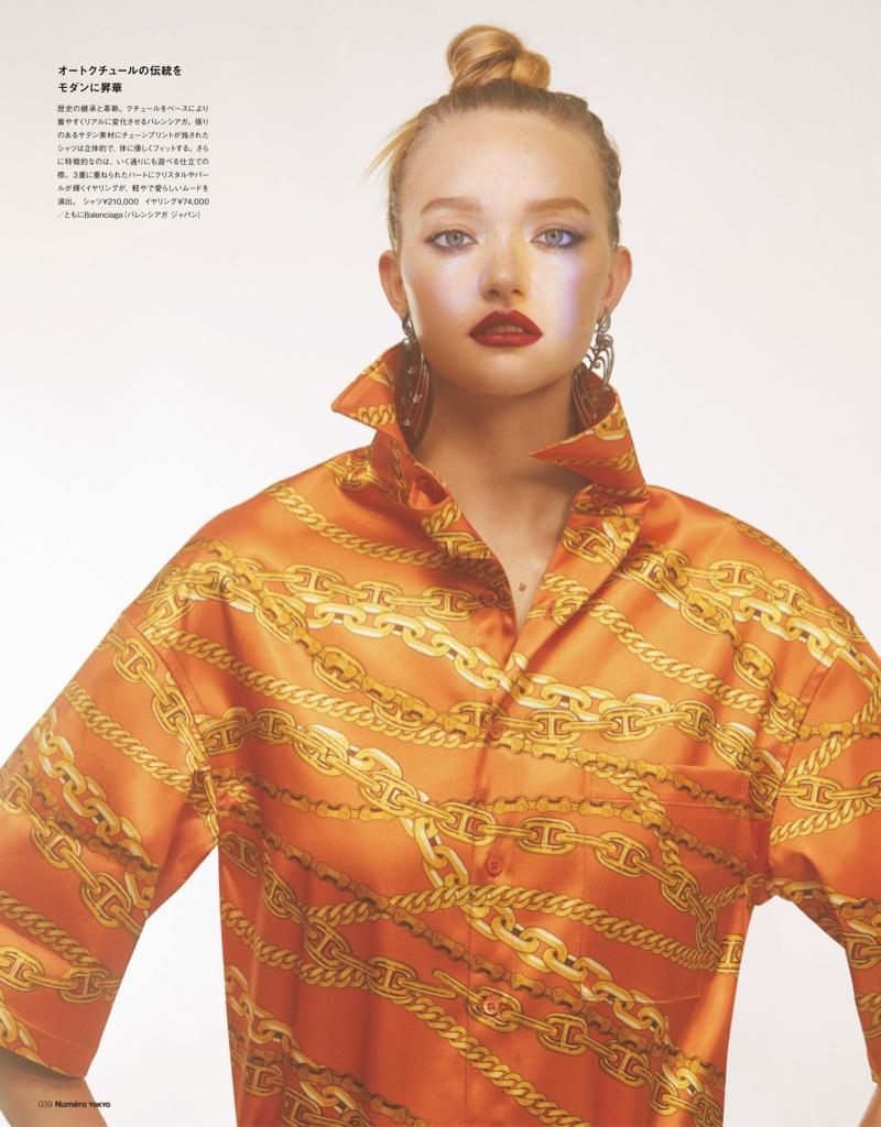 Gemma Ward Models Statement Fashions for Numero Tokyo