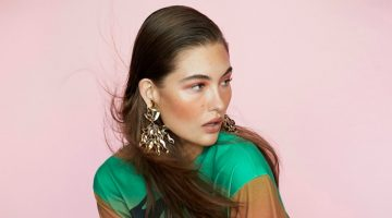 Grace Elizabeth Tries On Statement Styles for PORTER Edit