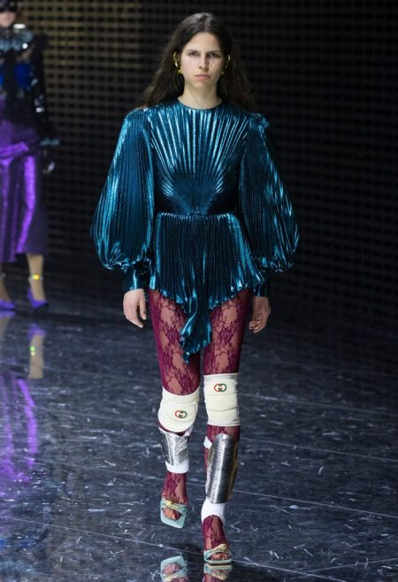 Gucci Puts On Armor for Fall 2019 Collection