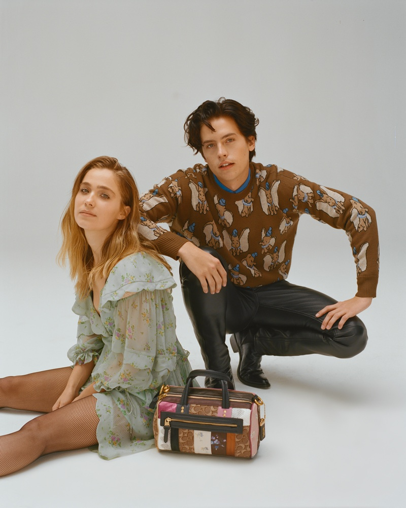 Five Feet Apart stars Haley Lu Richardson and Cole Sprouse wear fashionable looks
