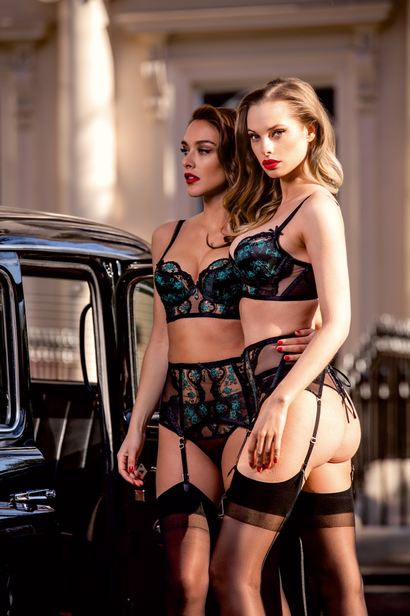Honey Birdette spotlights sexy lingerie in London Calling campaign