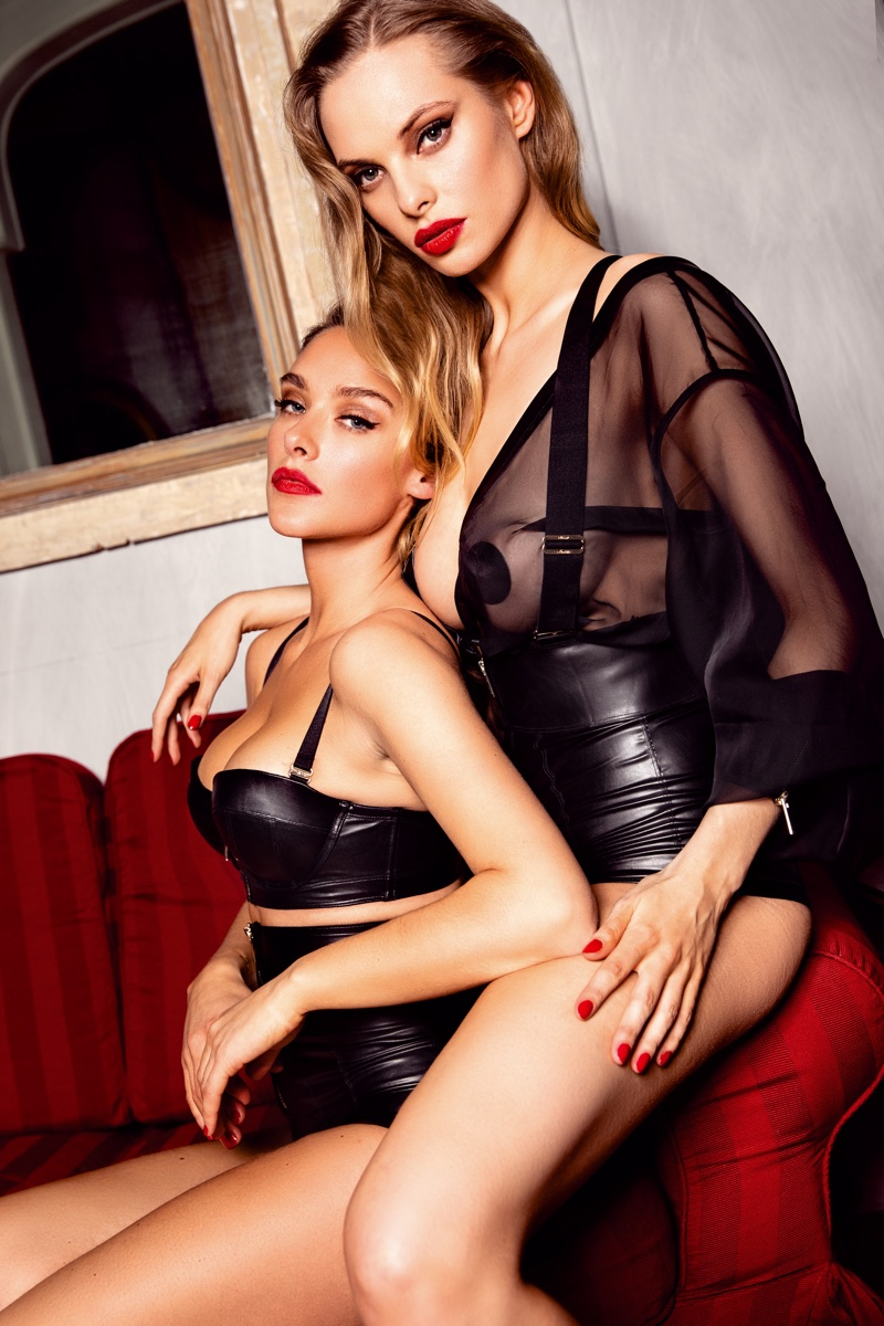 Honey Birdette features neoprene lingerie in London Calling campaign