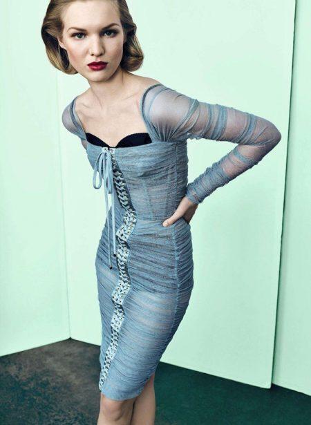 Jess PW Wears Sophisticated Looks for Harper's Bazaar Germany