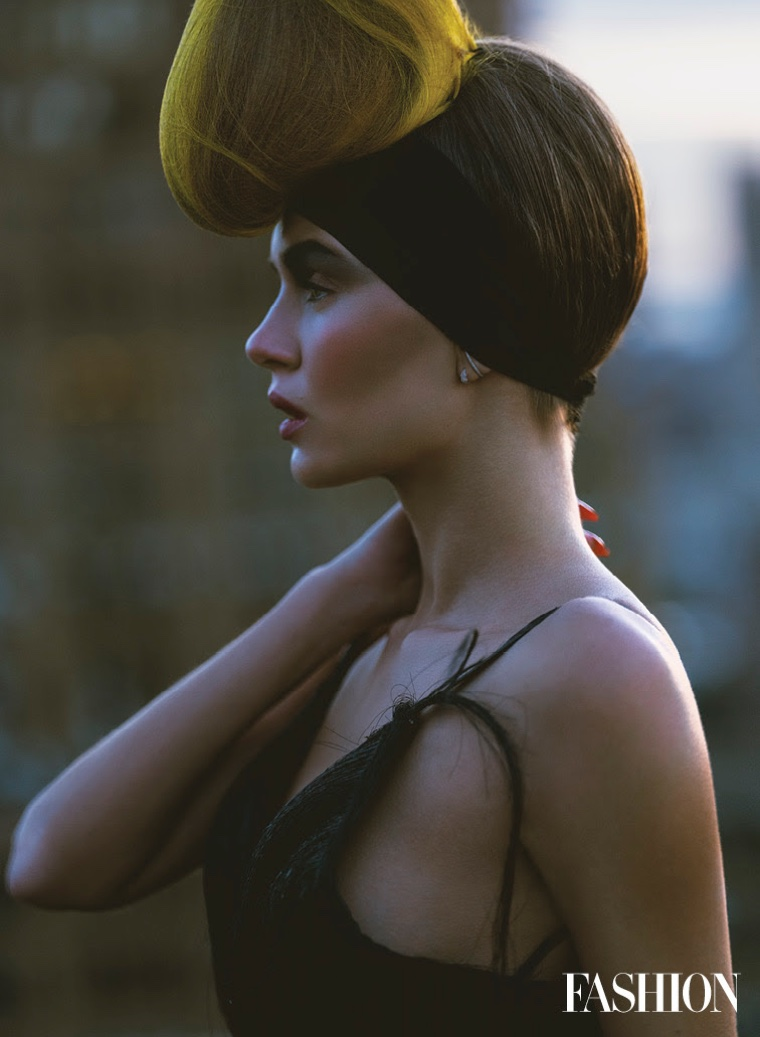 Josephine Skriver Gets Glam in Mugler for FASHION Magazine