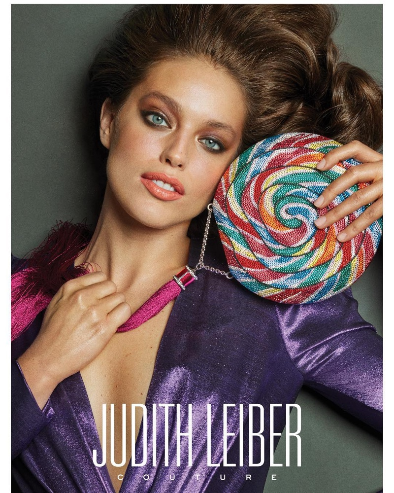 Judith Leiber enlists Emily DiDonato for its spring-summer 2019 campaign