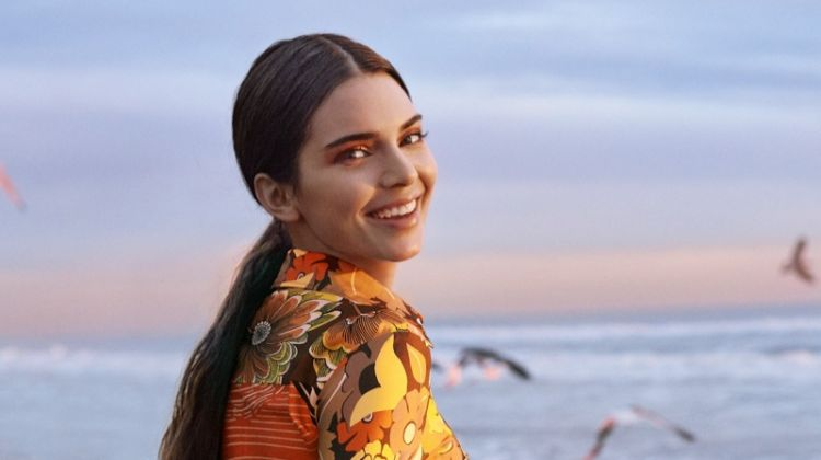 Kendall Jenner Poses in Bold Prints for Allure